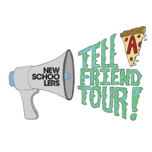 Tell a Friend Tour Logo